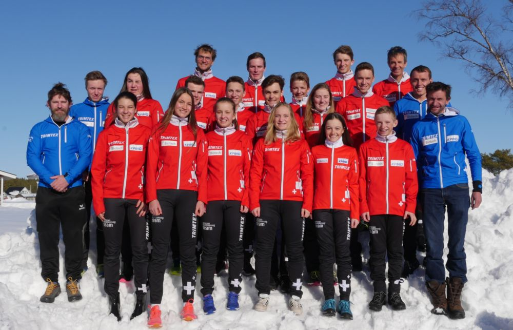 20190322 Offical Teamfoto Swiss Ski O Team 2019 Pitea