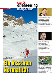 Cover Swiss Orienteering Magazine