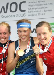 woc2016 middle podium women