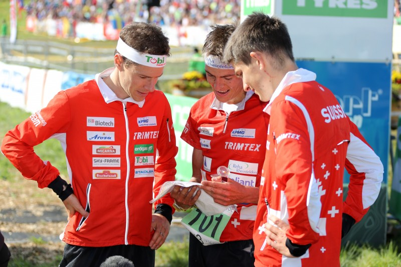 woc2016 relay swiss men